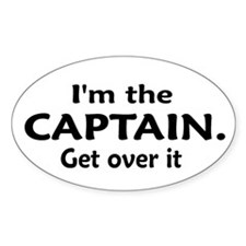 I'M THE CAPTAIN... Decal