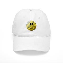Camouflage Smiley Face Baseball Cap