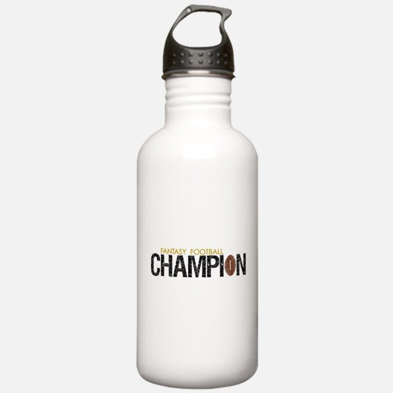 Fantasy Football League Champ Water Bottle
