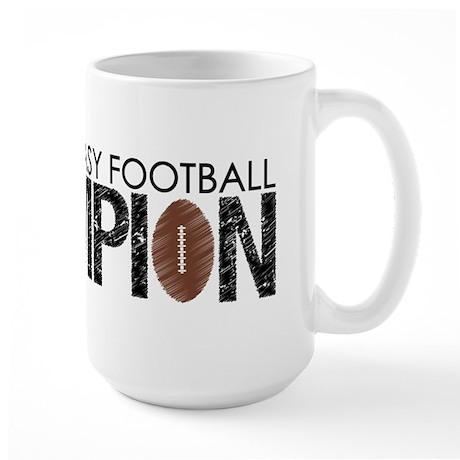 Fantasy Football Champ '10 Large Mug