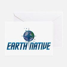 Earth Native, Fed Style Greeting Card