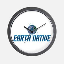 Earth Native, Fed Style Wall Clock