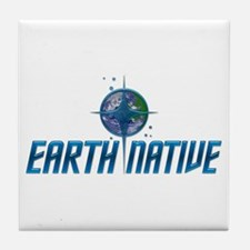 Earth Native, Fed Style Tile Coaster