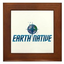Earth Native, Fed Style Framed Tile