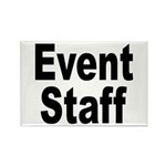 Event Staff Rectangle Magnet (10 pack)