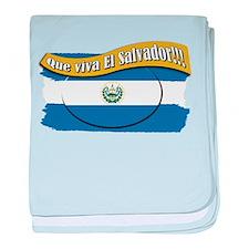 EL SALVADOR baby blanket