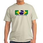 Brazilian flag colours BJJ Light T-Shirt