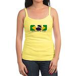 Brazilian flag colours BJJ Jr. Spaghetti Tank