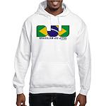 Brazilian flag colours BJJ Hooded Sweatshirt