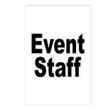 Event Staff Postcards (Package of 8)