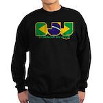Brazilian flag colours BJJ Sweatshirt (dark)