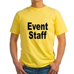 Event Staff Yellow T-Shirt