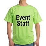Event Staff (Front) Green T-Shirt