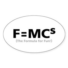 Formula for Fun Decal