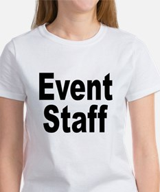 Event Staff (Front) Women's T-Shirt