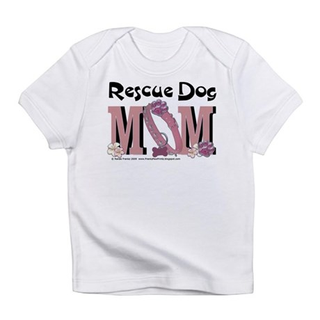 Rescue Dog MOM Infant T-Shirt