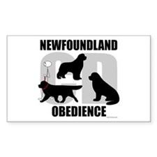 Newfoundland Novice CD Decal
