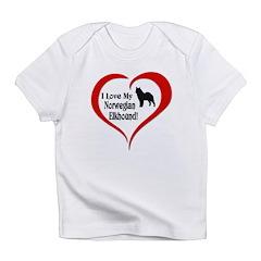 Norwegian Elkhound Infant T-Shirt