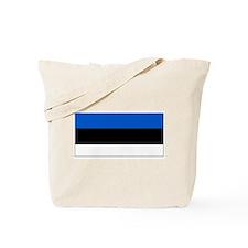 Estonia Estonian Blank Flag Tote Bag