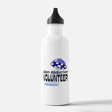 Alien Abductin Volunteer Water Bottle