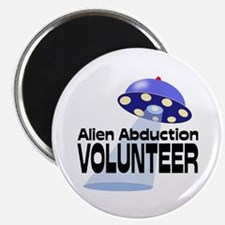 Alien Abductin Volunteer Magnet