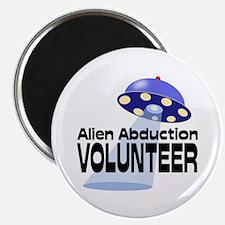 Alien Abductin Volunteer Magnet