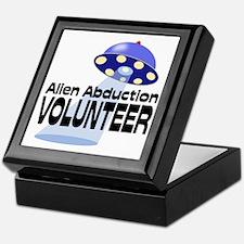Alien Abductin Volunteer Keepsake Box