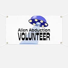 Alien Abductin Volunteer Banner