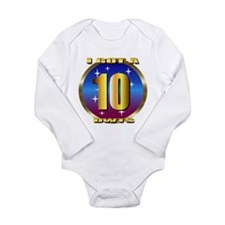 dancing w/stars Long Sleeve Infant Bodysuit