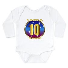 dancing w/stars Long Sleeve Infant Bodysuit