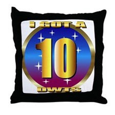 dancing w/stars Throw Pillow