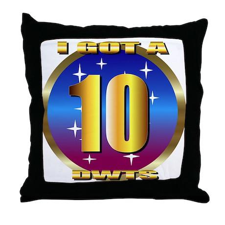 dancing w/stars Throw Pillow