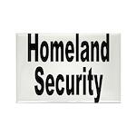 Homeland Security Rectangle Magnet (10 pack)
