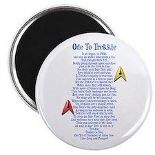 "Ode To Trekkie 2.25"" Magnet (100 pack)"
