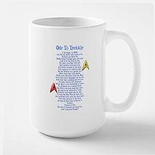 Ode To Trekkie Large Mug