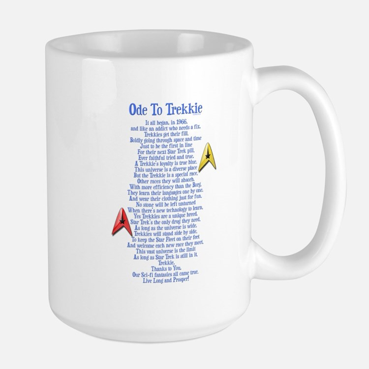 Ode To Trekkie Large Mug