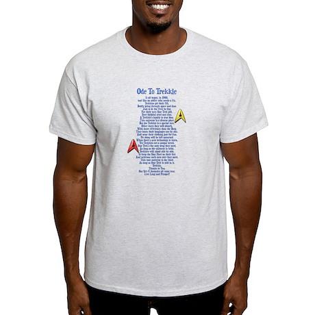 Ode To Trekkie Light T-Shirt