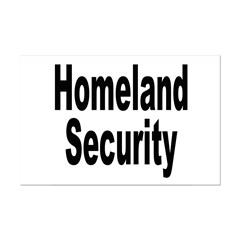 Homeland Security Posters