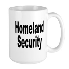 Homeland Security Large Mug