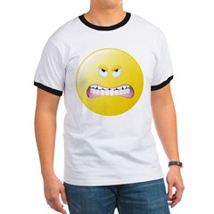 Angry Smiley Face T