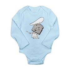 Crispy Toastman Long Sleeve Infant Bodysuit