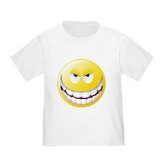 Evil Smiley Face T
