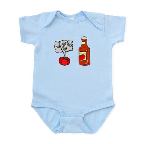 Messed Up Ketchup Infant Bodysuit