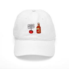 Messed Up Ketchup Baseball Cap