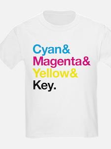 CMYK Proper T-Shirt
