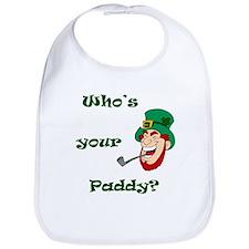 Who's Your Paddy? Leprechaun Bib