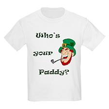 Who's Your Paddy? Leprechaun T-Shirt