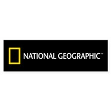 National Geographic Bumper Sticker