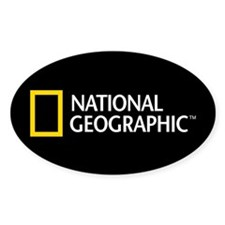 National Geographic Sticker (Oval)