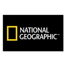 National Geographic Sticker (Rectangle)